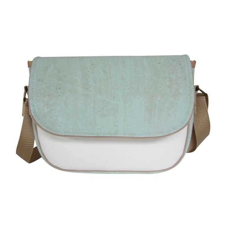 Love the pastel corkleather! Perfect size for small things. Handmade in Holland