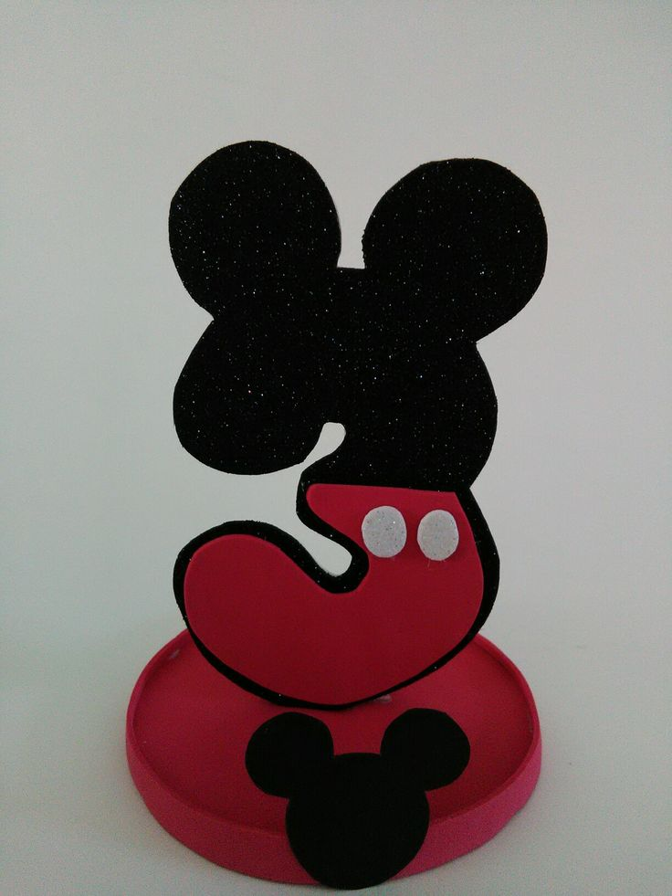 3 Mickey Mouse