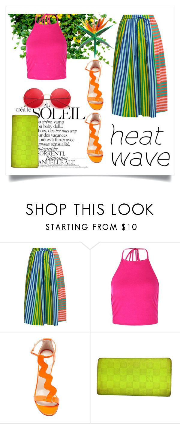 """""""beatrice 57"""" by beatrice-ballarini ❤ liked on Polyvore featuring Diane Von Furstenberg, Boohoo, Camilla Elphick and Louis Vuitton"""