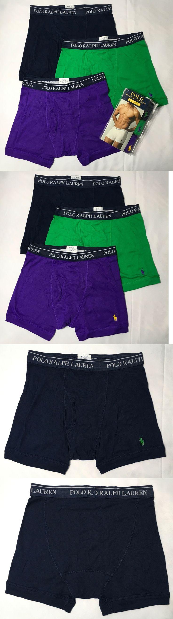Underwear 11507: Pack 3 Polo Ralph Lauren Men Classic Fit Boxer Briefs Soft Cotton Sz M L Xl -> BUY IT NOW ONLY: $31.95 on eBay!