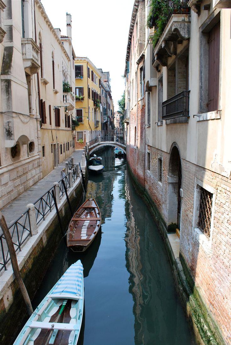 Canal - Little canal in Venice - Venezia, Veneto, Italy.
