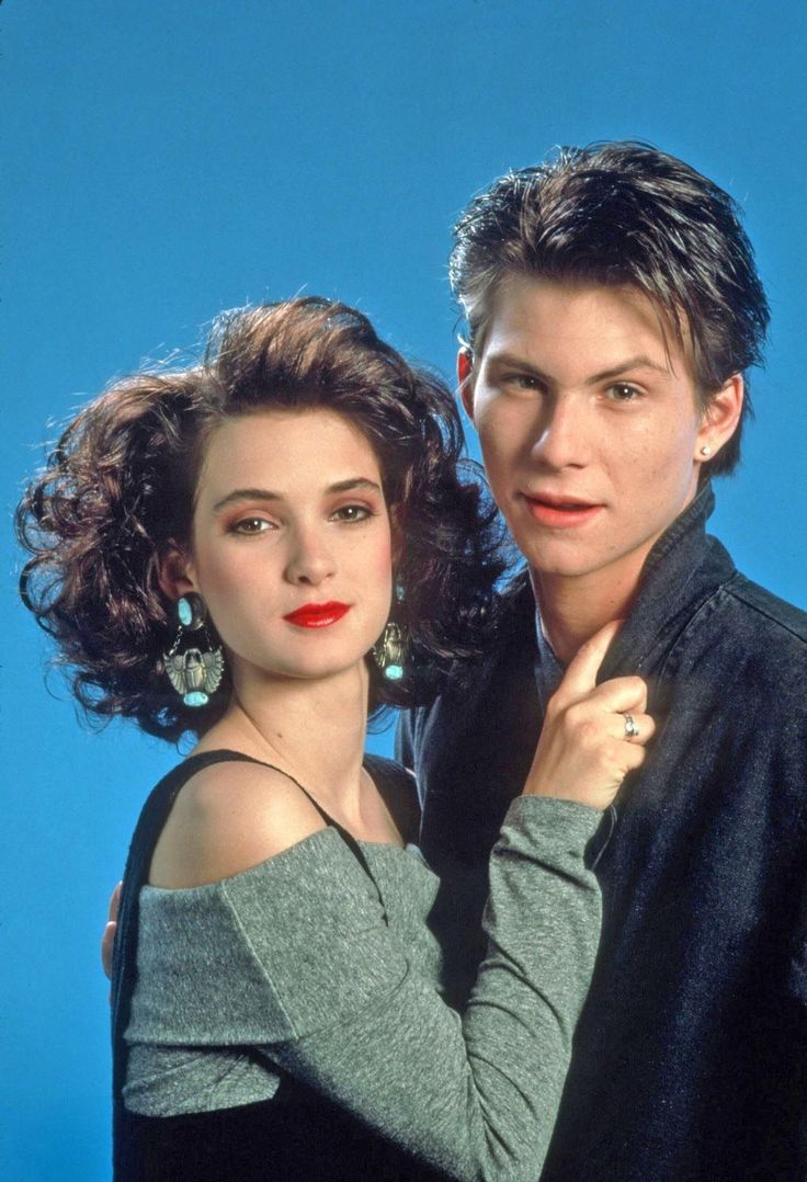 Christian slater dating winona ryder