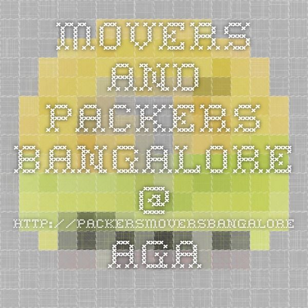 Movers and Packers Bangalore @ http://packersmoversbangalore.agarwal-packers-movers.com - iPeace.us