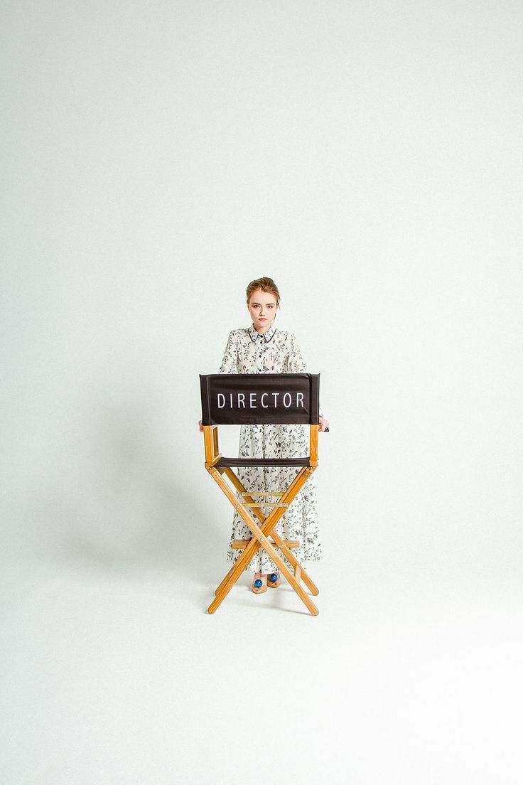Купить Режиссерское кресло с вышивкой «DIRECTOR» - режиссерское кресло, режиссерский стул, оборудование для съемок, стул