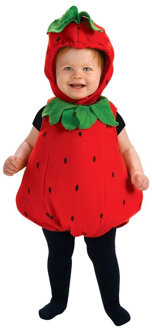 Berry Baby Costume Strawberry Outfit HalloweenCostumes4u.com $25.64