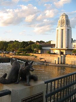 St. Charles, Illinois, where I'm from #fox river