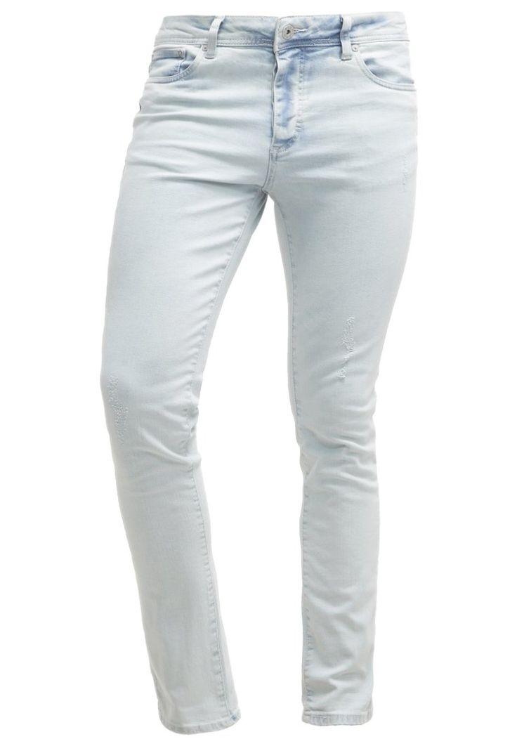 Pier One Jeans Slim Fit bleached denim Bekleidung bei Zalando.de ...