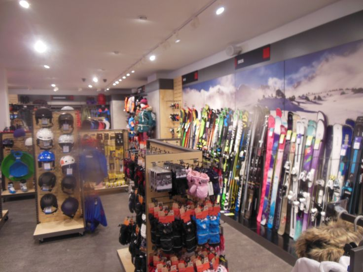 Have you ever seen so many skis? - November 2014