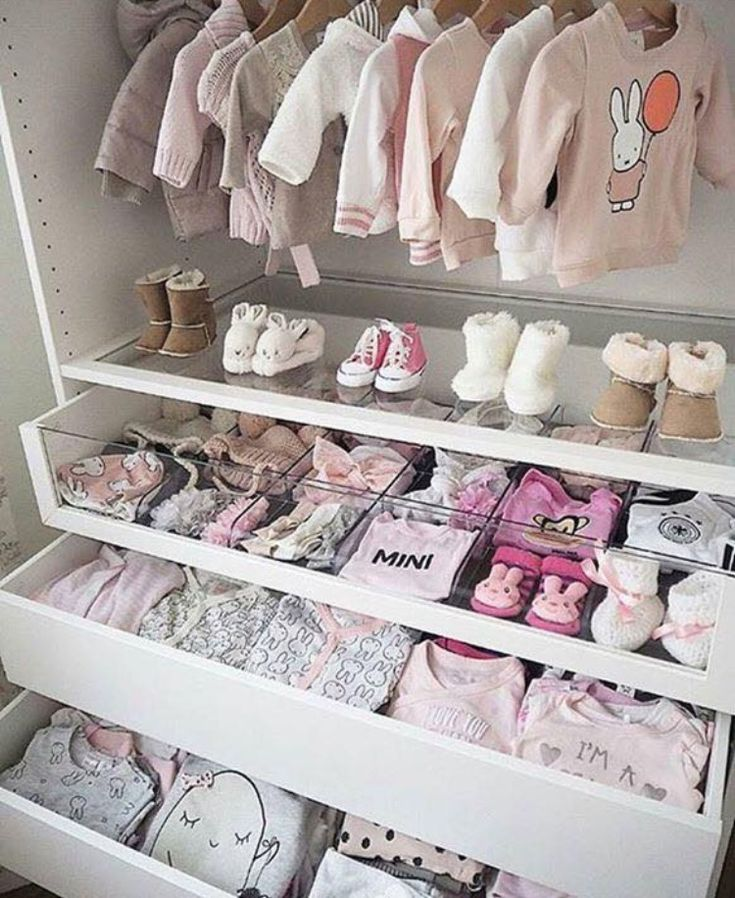 drawers in closet