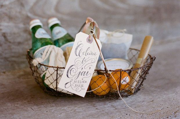 7 Tips for Hotel-ifying Your Home | The Welcome Basket: Leave a basket of goodies—individual shampoo and conditioner bottles, local foods you love, and bottled water— and a handwritten note by your guests' bed. Everyone loves a suprise present and this one will help set the posh tone for their stay.