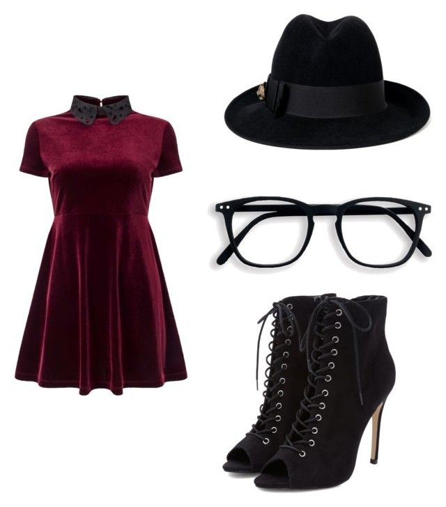 """""""Gryffindor"""" by mystyleisme on Polyvore featuring Miss Selfridge and Gucci"""