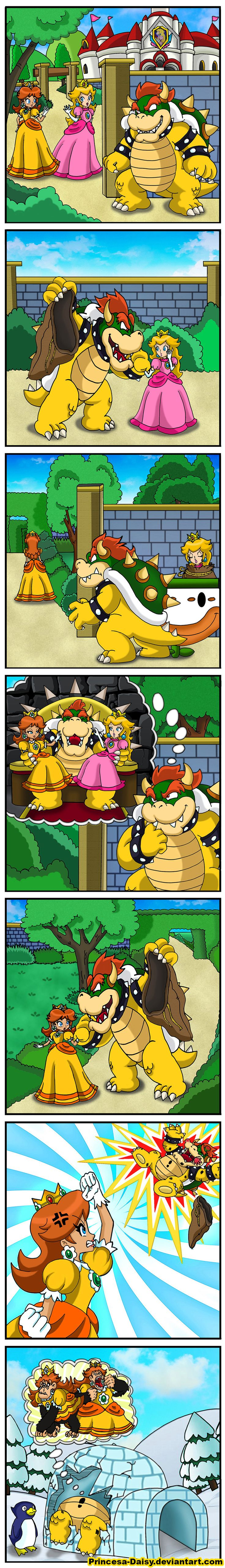 Bowser's ambition by Princess-Daisy