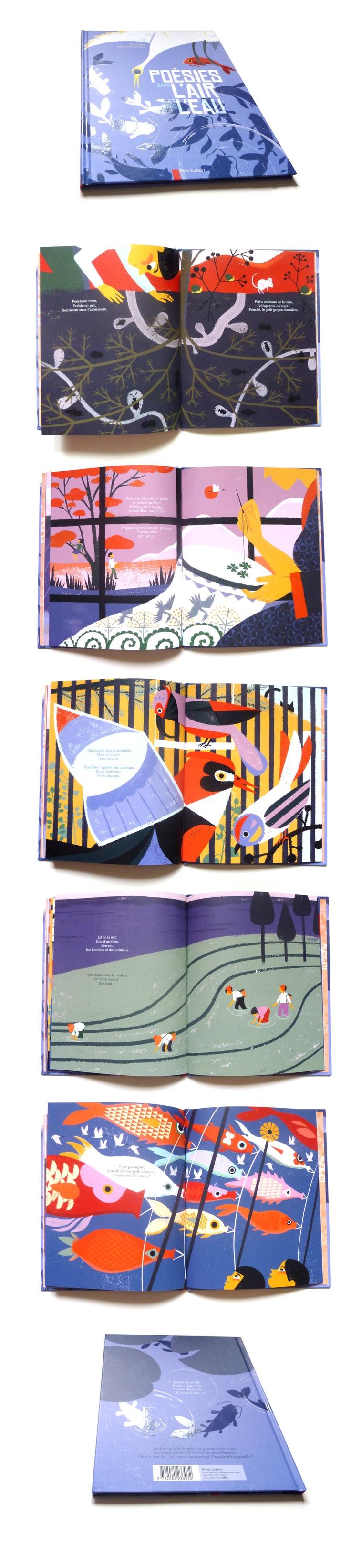 Poésies dans l'air et dans l'eau; by Kochka & Julia Wauters