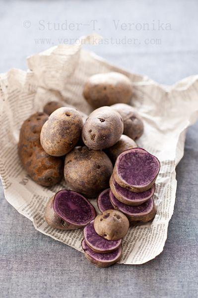 Purple potato by StuderV, via Flickr