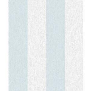Super Fresco Easy Calico Stripe Wallpaper - Duck egg