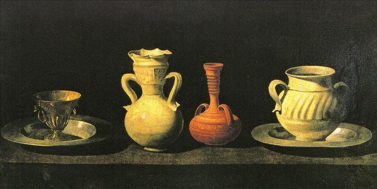 スルバラン 1658-64 茶碗・アンフォラ・壺 マドリード・プラド美術館
