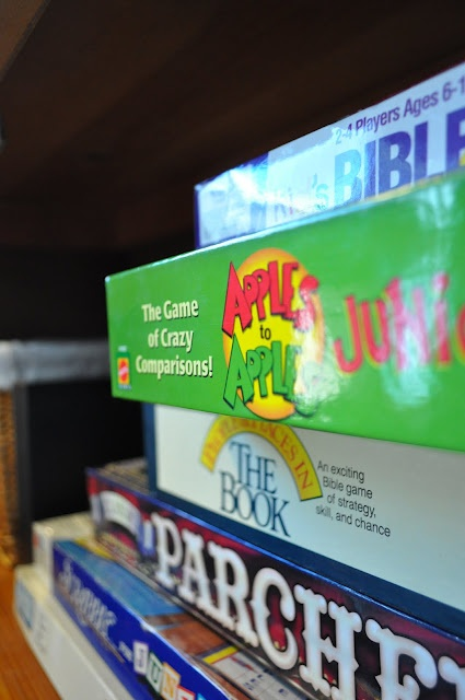 Tips for organizing the game shelf: Games Shelf, Games Cupboards, Games Night