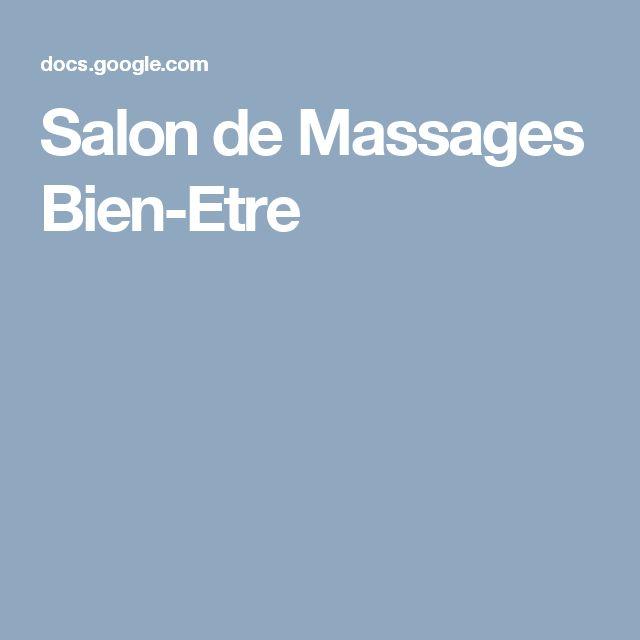 Salon de Massages Bien-Etre
