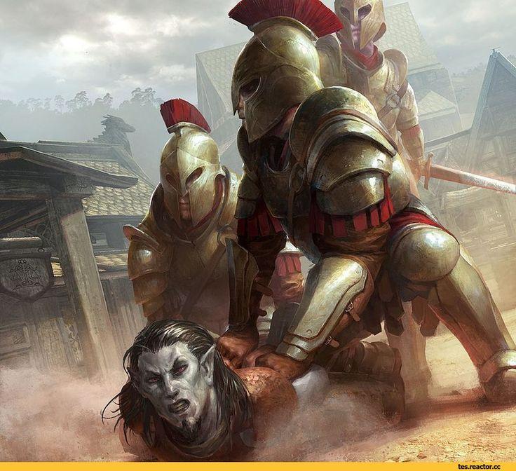 The Elder Scrolls Legends,The Elder Scrolls,фэндомы,Данмер,TES расы,стража