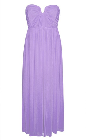 Georgie Lilac Purple Maxi Dress $59.95  www.littlepartydress.com.au