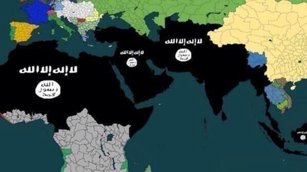 islamic territory map - Google Search
