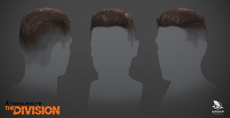 ArtStation - The Division - Player hairstyles, Airship Images