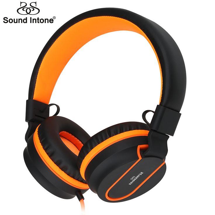 Sound intone i35調節可能なヘッドセットイヤホン取り外し可能なイヤフォンヘッドフォンfone社デouvido付きマイク用携帯電話、コンピュータ