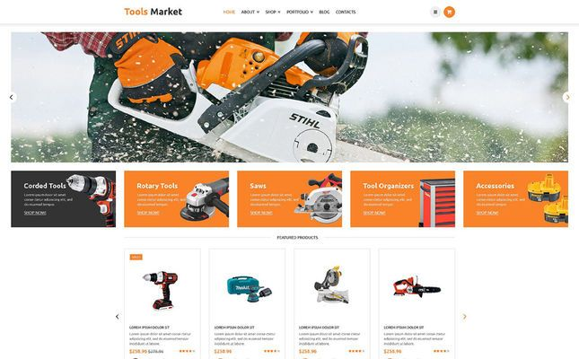 5 of the Best WooCommerce Themes for Selling Tools