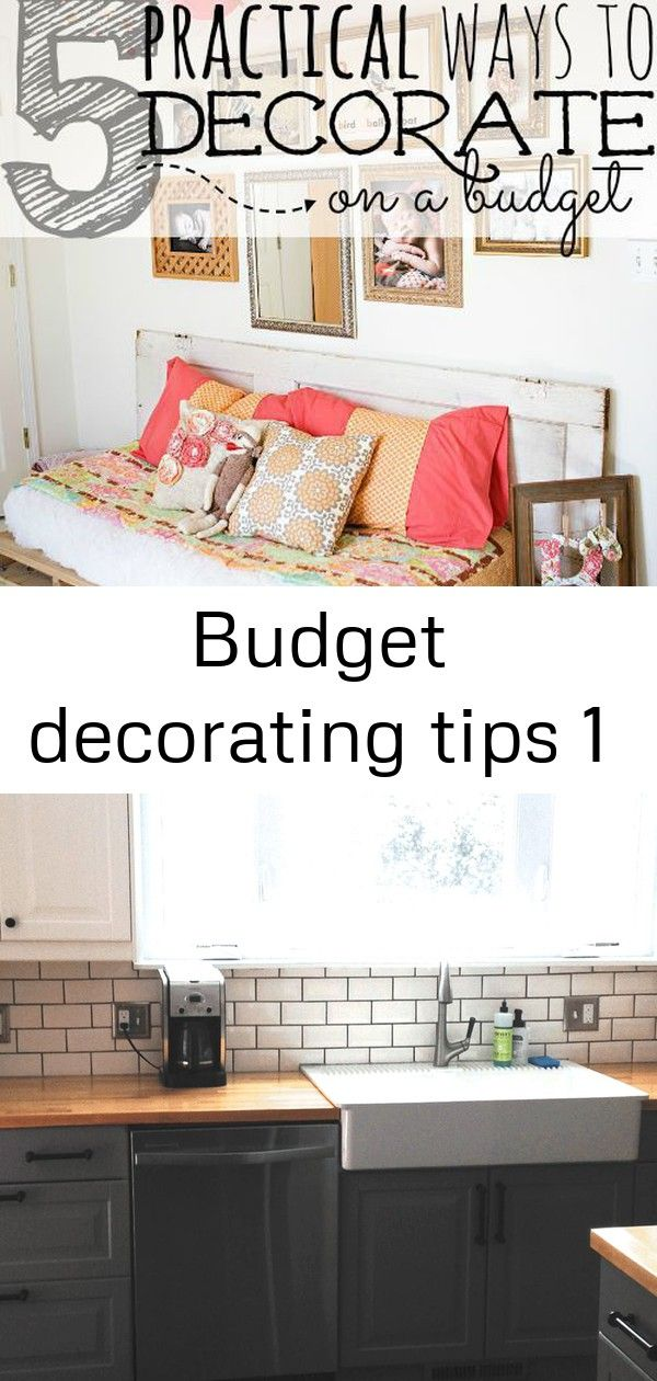How To Decorate Your Home On A Budget Budget Home Decorating