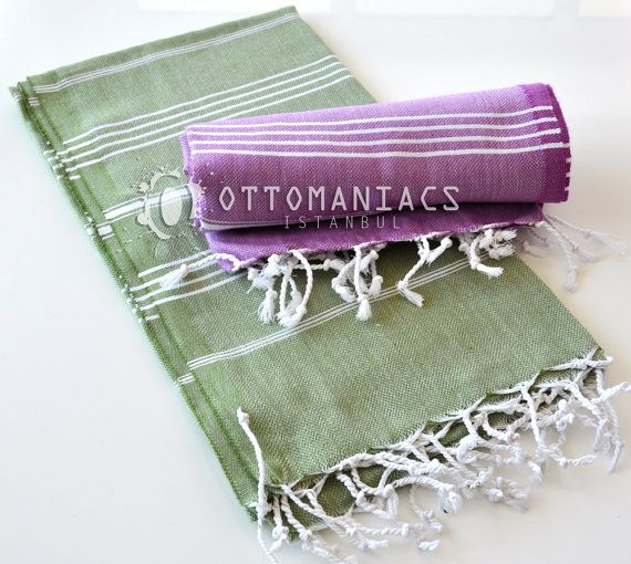 Summer Gift Ideas 2 Pcs Cover Ups Linen Towel by Ottomaniacs