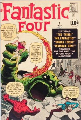 Fantastic Four #1: the origin and first appearance of Marvel's first super-team since the Golden Age