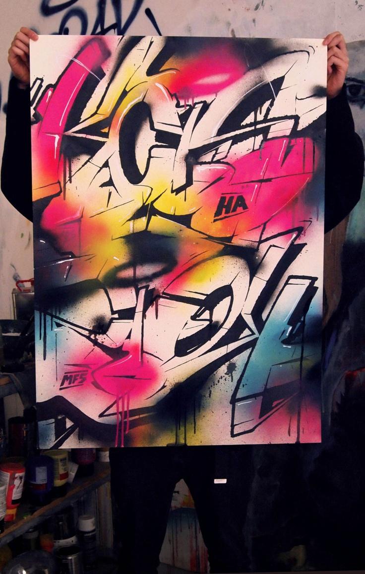 Die besten 25 graffitti schriftz ge ideen auf pinterest - Graffiti ideen ...