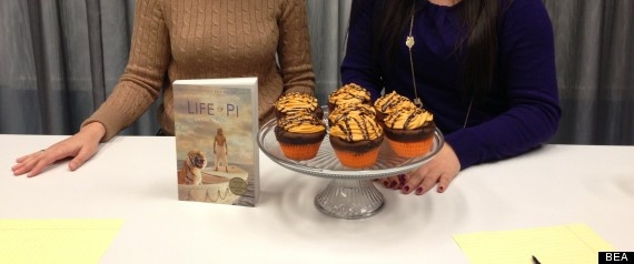 Book Themed Cupcakes: 'Life Of Pi'