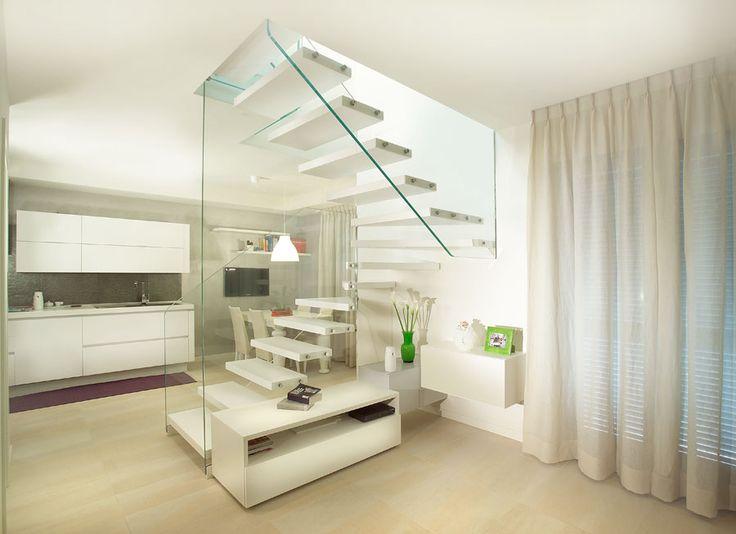 escaleras de diseo escaleras para interior de la firma italiana marretti escaleras de madera
