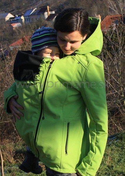Softshellová bunda Adelay   Primame.sk - šatky a nosiče pre deti