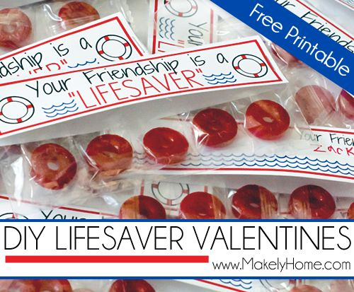 Lifesaver Friendship Gift