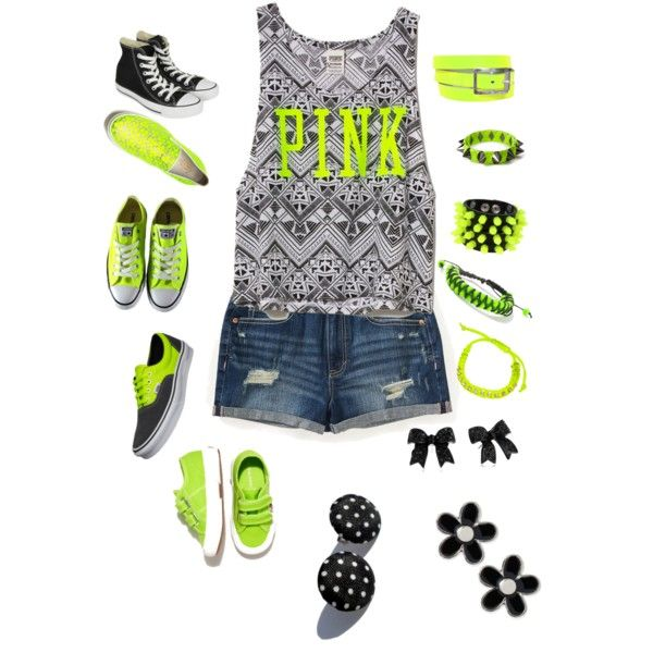 Good summer outfit for school.