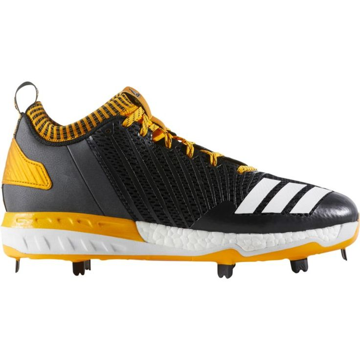 adidas Men\u0027s Boost Icon 3 Metal Baseball Cleats, Size: 12.0, Black