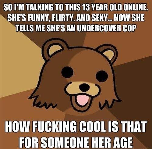 Classic Pedobear #meme #classic #pedobear #funny #humor #comedy #lol