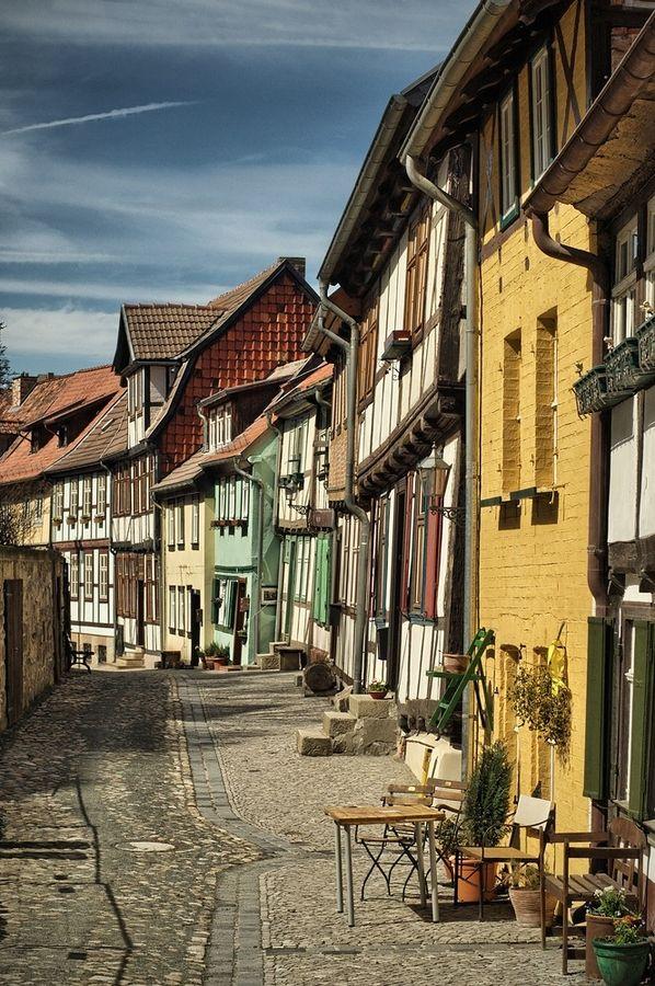 Quedlinburg (UNESCO, 1000 Places) - Quedlinburg, Saxony-Anhalt, Germany