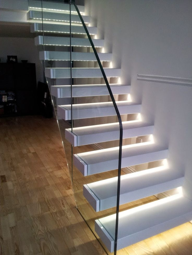 Best 105 Best Glass Staircase Images On Pinterest Modern 400 x 300