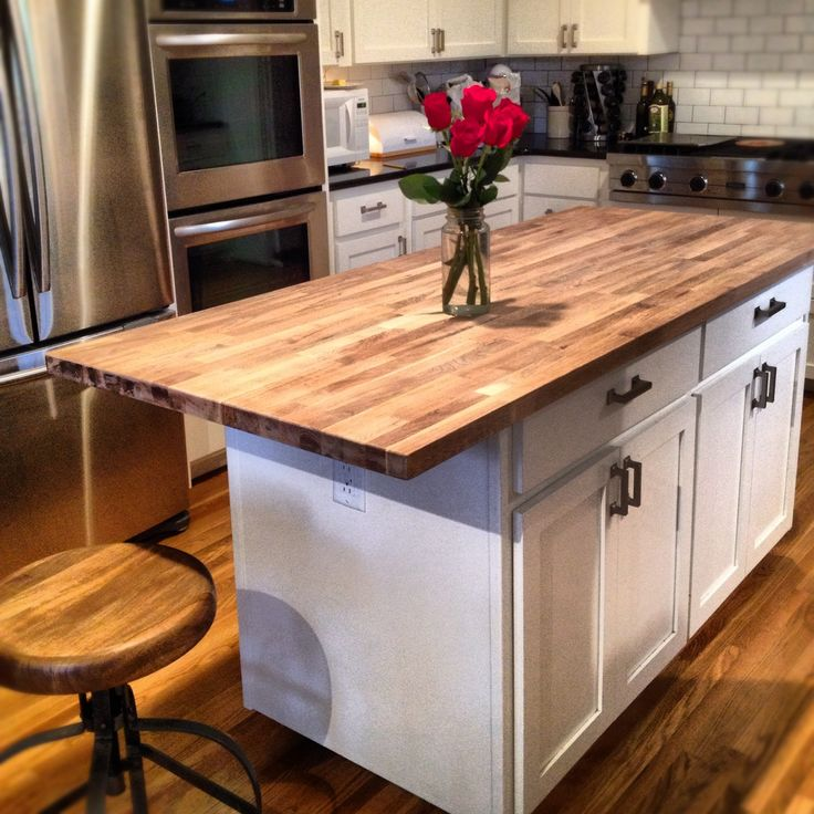 beautiful Chopping Block Kitchen Island #4: 17 Best ideas about Butcher Block Kitchen on Pinterest | Butcher block  countertops, Butcher block counters and Diy butcher block countertops
