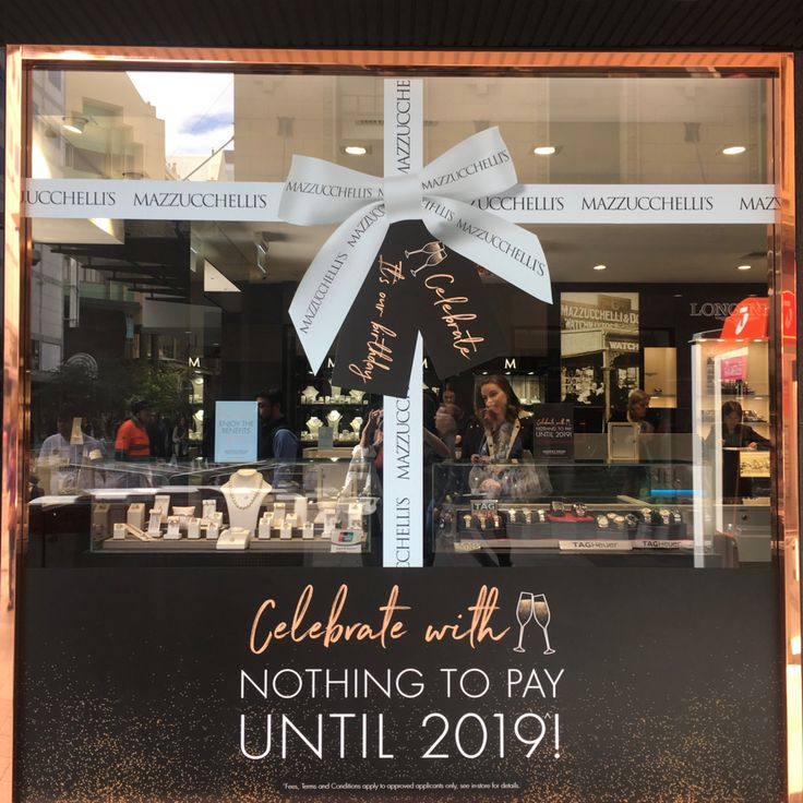 Just one week left of our birthday celebrations! How good does our Rundle Mall Flagship Store look? #mazzucchellis #jeweller #jewellery #mazzucchellisjeweller #diamond #diamonds #diamondjewellery #australianjewellery #adelaidejeweller #melbournejeweller #sydneyjeweller #canberrajeweller #perthjeweller #jewellerystore #birthday #storefront #storewindow #retailwindows #retailwindowdisplay #celebration #gift #giftideas #party