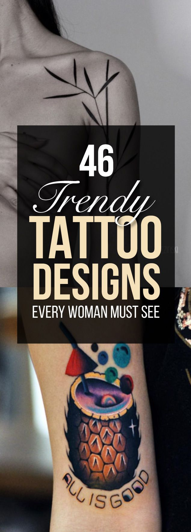 46 Trendy Tattoo Designs Every Woman Must See | TattooBlend