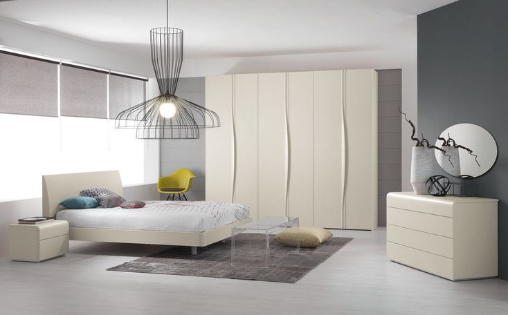 Camera da letto moderna New Unika U20