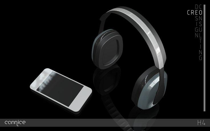 Lo studio del concept per questo prodotto è stato eseguito per un azienda asiatica che l'intenzione di entrare nel mercato europeo. CANNICE sono cuffie senza cavi collegabili a vari dispositivi via bluetooth e wi-fi.