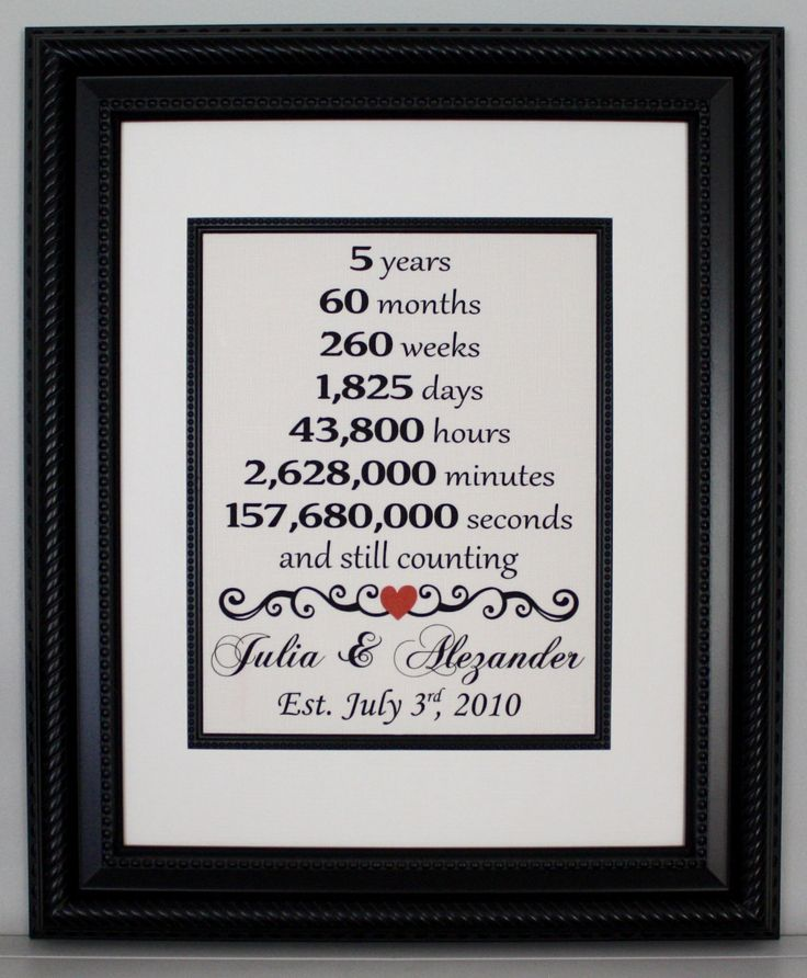 5th Year Anniversary: 1000+ Ideas About 5 Year Anniversary On Pinterest