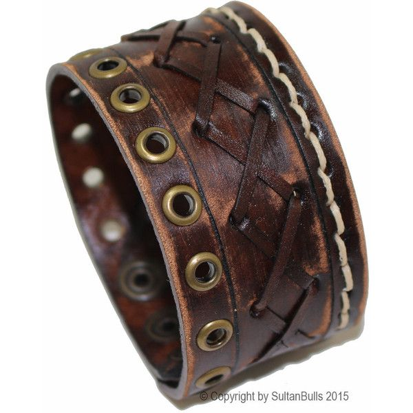 Genuine leather bracelet leather cuff first class leather wristband... ($40) ❤ liked on Polyvore featuring men's fashion, men's jewelry, men's bracelets, mens bracelets, mens leather bracelets, mens string bracelets, mens brown leather bracelets and mens leather cuff bracelets