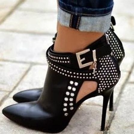 Attractive Street Rhinestone Ankle-boot - http://bit.ly/1xACfxP