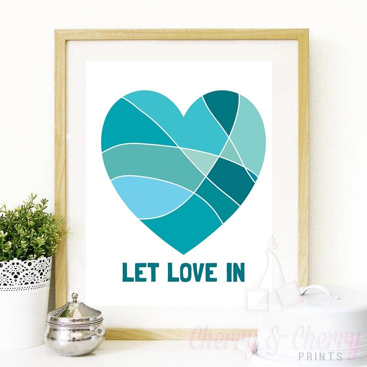 Cherry & Cherry PRINTS - Let Love In Cod produs: D-070 Disponibil în toate...